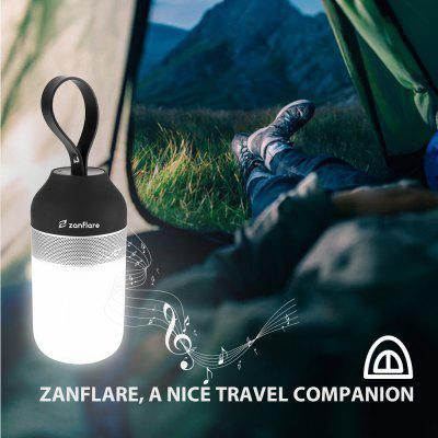 zanflare Portable Outdoor Smart Speaker Light