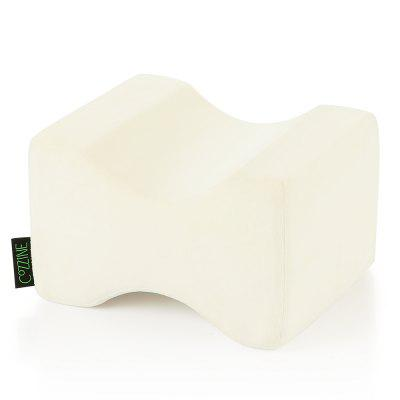 Gearbest COZZINE Pure Memory Foam Knee Pillow - OFF-WHITE