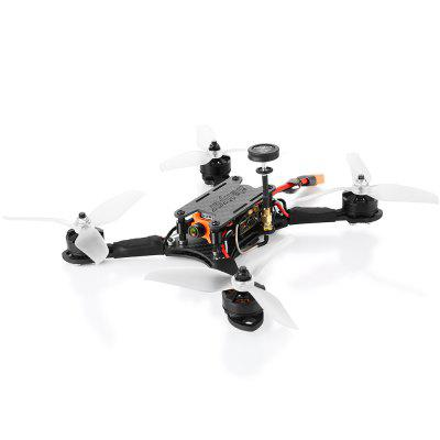 helifar FUUTON 2 Brushless Remote Control FPV Racing Drone - Black BNF with Frsky Receiver