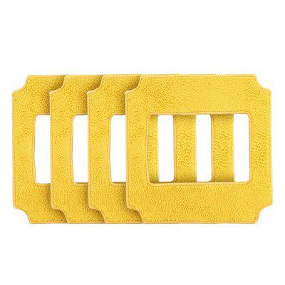 Microfiber Cleaning Pad,Cleaning Pad for Robot Window Cleaner,Square Microfiber Cleaning Pad,Square Microfiber Cleaning Cloth,Cleaning Cloth for Robot Window Cleaner