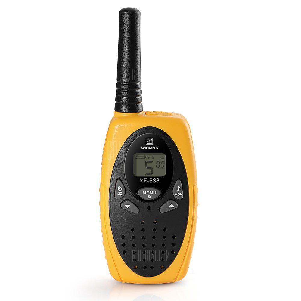 ZANMAX XF - 638 8-Channel Twin Walkie Talkies - ORANGE