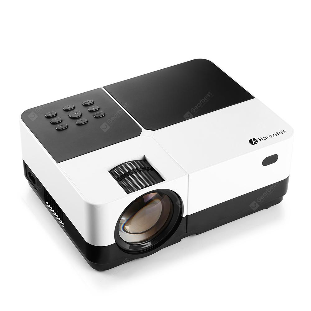Houzetek H2 Portable Mini Projector - MULTI-A EU PLUG