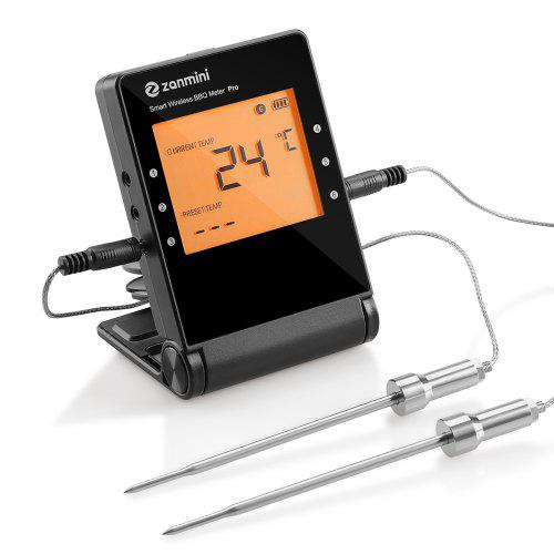 zanmini Pro 04 Wireless BBQ Thermometer BLACK