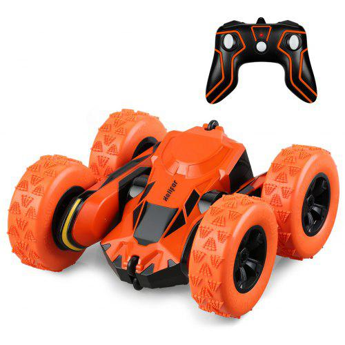 helifar HB NB2803 1 : 28 Stunt Rotating RC Car ORANGE
