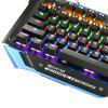 Madgiga K400 Mechanical Gaming Keyboard - BLACK AND BLUE
