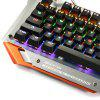 Madgiga K400 Mechanical Gaming Keyboard - ORANGE AND GRAY