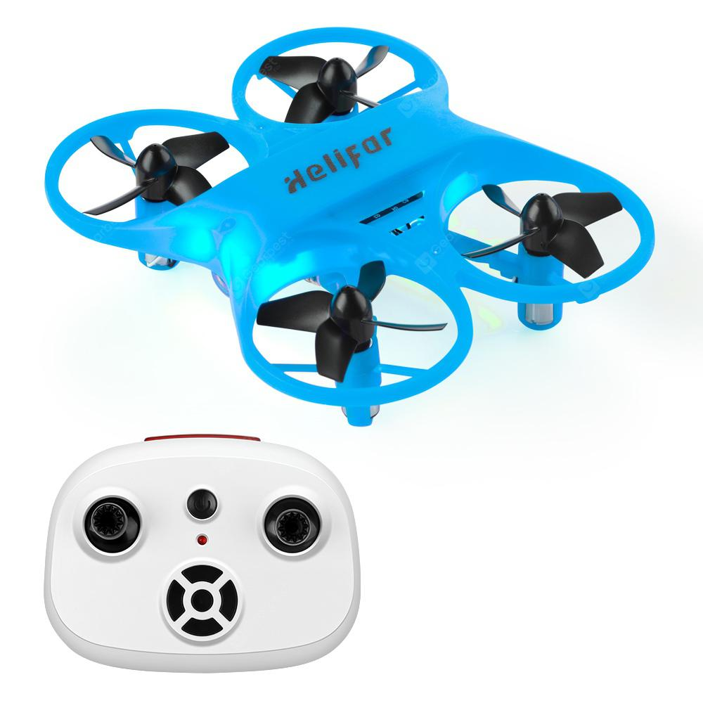 helifar H8 Anti-collision Mini RC Quardcopter - BLUE