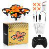 helifar H803 Mini Drone With Infrared Collision Avoidance - ORANGE
