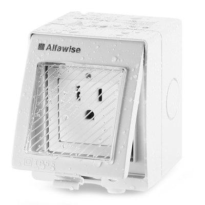 Alfawise WIFI Enchufe de Pared Impermeable