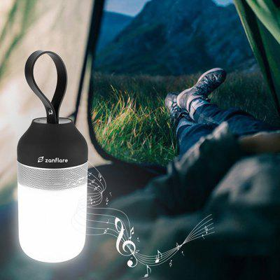 Портативный наружный смарт динамик-свет zanflare Outdoor Bluetooth Speaker Light,Outdoor Portable Bluetooth Speaker,Waterproof Bluetooth Speaker,Lamp with Bluetooth Speaker,LED Bluetooth Speaker,Rechargeable Bluetooth Speaker Light,Night Light Bluetooth Speaker фото