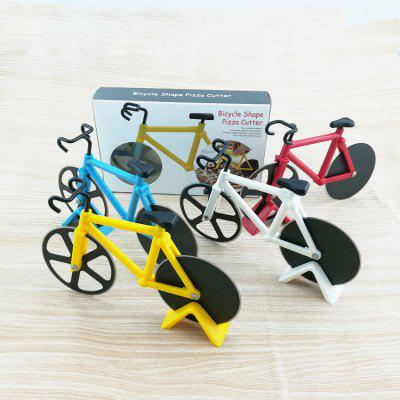 Bicycle Pizza Knife Creative Pizza Wheel Roller Cutter Baking Gadget