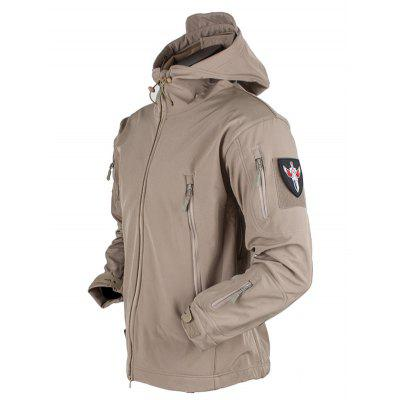 Outdoor Camouflage Windproof Waterproof Breathable Three-in-one Jacket