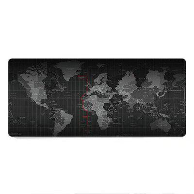World Map Large Gaming Mouse Pad Mousepad