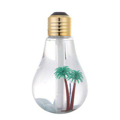 Creative USB Office Silent LED Colorful Light Bulb Humidifier Night Light Humidifier