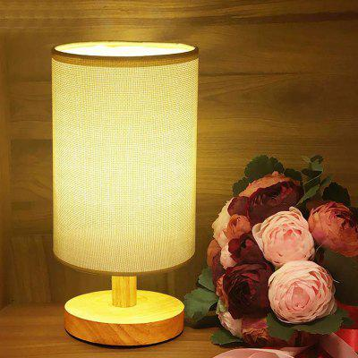 Creative Feeding Lamp Bedroom Bedside Lamp Led Night Light Solid Wood Decoration Lamp