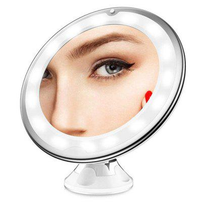 Suction Cup Fill Light LED Makeup Mirror