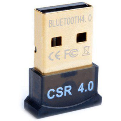 Adaptador Bluetooth USB CSR4.0 Receptor de audio Bluetooth Compatibilidad con el transmisor Bluetooth gana 8/10