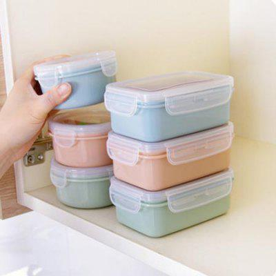 Lunch Box Refrigerator Fresh Lunch Plastic Lunch Box Silicone Sealed Kitchen Supplies Grain Storage Box