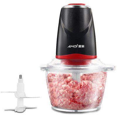 Meat Grinder Household Electric Small Stainless Steel Food Supplement Machine Garlic Pepper Minced Meat Stuffing Broken Meat Machine