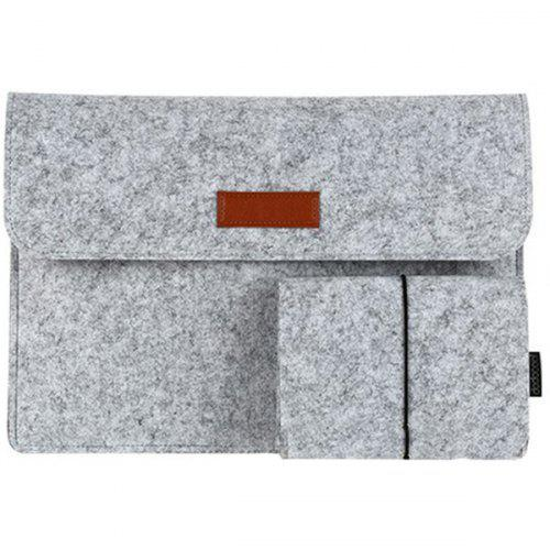huge discount 621f3 c2990 13.3-Inch Felt Sleeve Cover Carrying Case Protective Bag 4 Compartments  with Mouse Pouch for MacBook Air / MacBook Pro with Retina Display