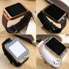 DZ09 Smart Watch Telefon Handy Internet Touchscreen Positionierung Bluetooth Foto Geschenk - WEIß