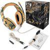 Gaming Headset Fan Color Headset PS4 XBOX ONE Headset Phone Headset - CAMOUFLAGE YELLOW