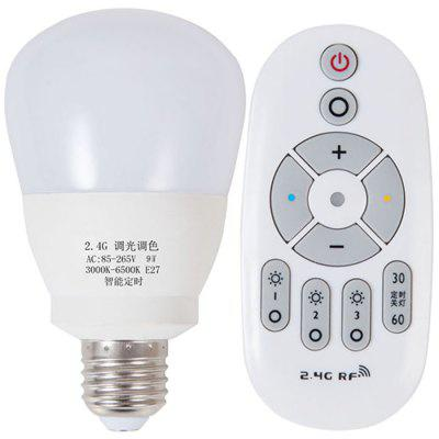 Smart Wireless Remote Control Dimming Led Bulb Treasure Mother Night Light E27 Screw Energy Saving Bulb Lamp Timing