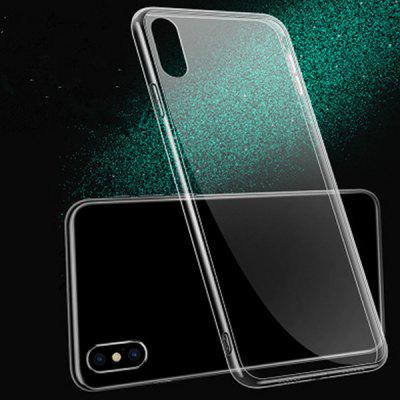 Transparent Glass Mobile Phone Case for iPhone