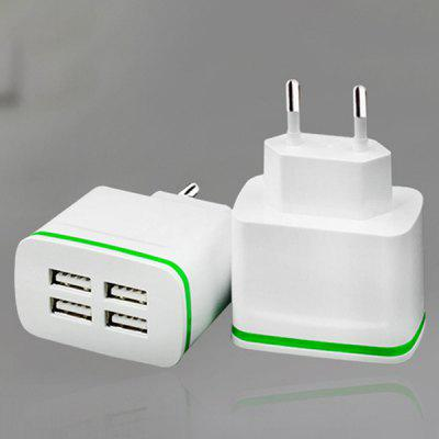 Smart Phone Tablet Universal Travel Dual Usb Charger Glow 5v2a Multi-port USB Charger