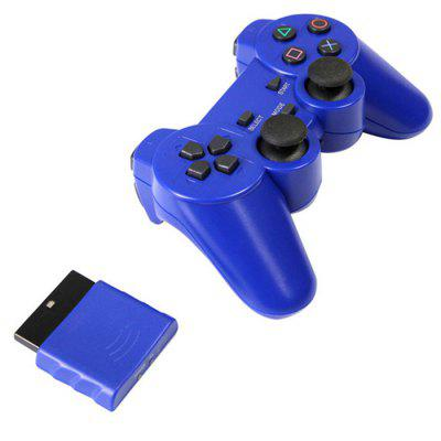 PS2 Handle 2.4G Wireless Game Controller Compatible with PS1 Handle Convertible Computer PS2 Game Controller