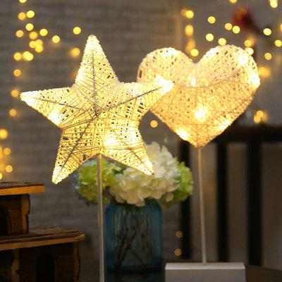 Stars Table Lamp LED Night Light Lanterns Decoration