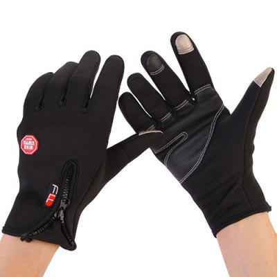 Outdoor Climbing Windproof Winter Riding Warm Gloves