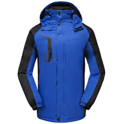 Plus Velvet Outdoor Jacket Logo Windproof Ski Suit Printing Waterproof Thickening Mountaineering Jacket