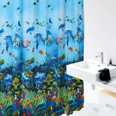 Shower Curtain Waterproof Thickening Mildew Bathroom Bathroom Curtain Shower Curtain