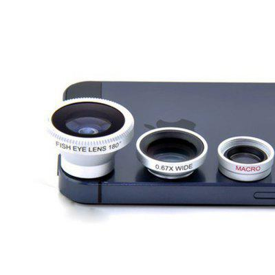 Universal Magnetic Three-in-one Mobile Phone Lens