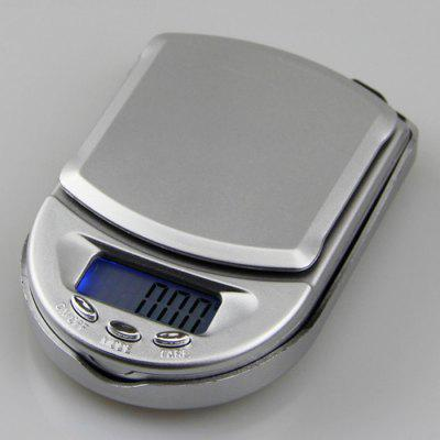 Mini Jewelry Scale Electronic Weighing 0.01g Palm Pocket Scale Portable Electronic Platform Scale