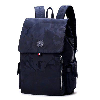 e95d0e229afc Backpack Men And Women Fashion Wild Casual Camouflage Oxford Cloth Travel  Backpack