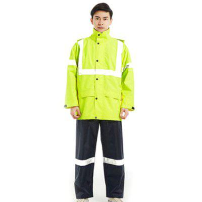 Jeździec motocyklowy płaszcz przeciwdeszczowy Dorosły rower elektryczny Single Riding Split Raincoat Rain Pants Suit Waterproof