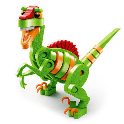 EVA 3D Puzzle Children Educational Spell Insert Simulation Jurassic Dinosaur Static Assembled Toy