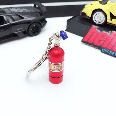 Car NOS Nitric Oxide Keychain Outdoor Multifunction LED Light Keychain Small Gift