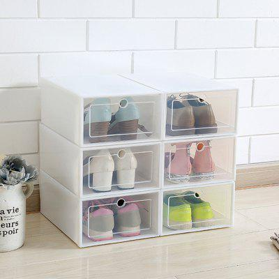 Transparent Plastic Artifact Shoe Storage Box