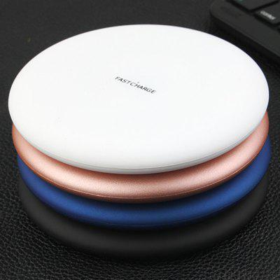 New Ultra-thin Wireless Charger 9V High-power Fast Charge Round Wireless Charging Production