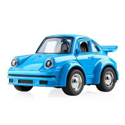 Children Alloy Pull Back Classic Classic Car Simulation Car Model Can Open The Door Boy Q Version Educational Toys