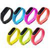 Creative Smart Fitness Bracelet Smart Watch Wristband Touchpad Sleep Monitor Heart Rate Bluetooth 4.0 Monitor - BLACK