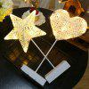Stars Table Lamp LED Night Light Lanterns Decoration - WARM WHITE - STAR SHAPE