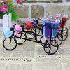 Wrought Iron Bicycle Candle Set Decoration Creative Bicycle Jelly Candle Birthday Wedding Fragrance Decoration Gift - IRON BICYCLE CANDLE / STYLE MIXED