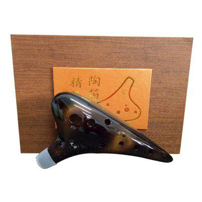 12-holes Boutique Ocarina Box Ocarina High-end Box geschenkverpakking