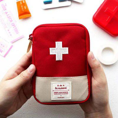 Outdoor Portable First-aid Packet Exquisite First Aid Kit Drug Pack Portable Medicine Kit Medical Kit Medicine Box
