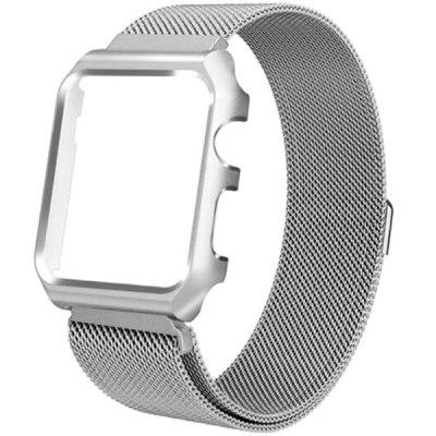 Watch Strap Magnetic Metal Frame Connected Strap for iWatch