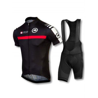 Cycling Suit Bicycle Clothing Short-sleeved Suit Outdoor Sports